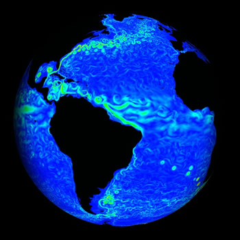 Sea Currents by NASA